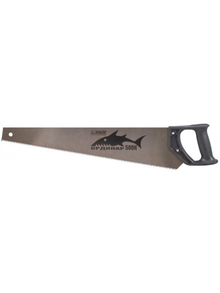"""Ножовка по дереву """"Дельта"""" """"Кайман"""" трапециевидное полотно шаг 45 мм пластиковая ручка 400 мм"""