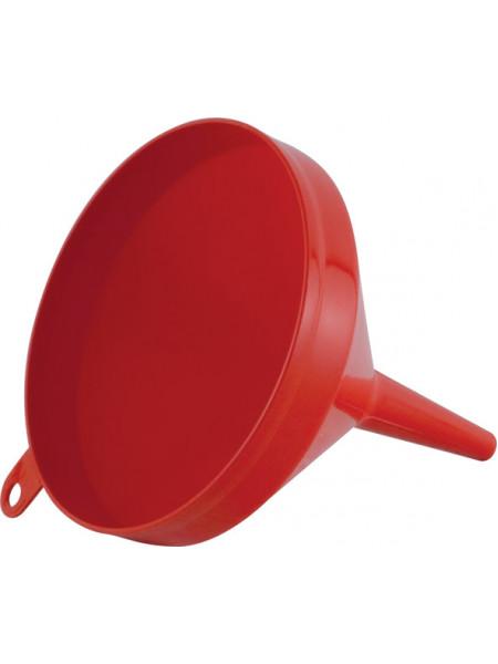 Воронка пластиковая красная д.160 мм