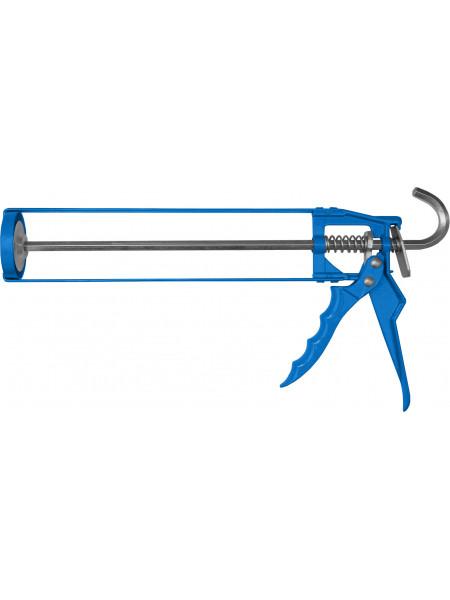 Пистолет для герметика скелетный 225 мм