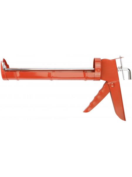 Пистолет для герметика 225 мм полукорпусной