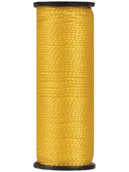 Шнур разметочный капроновый 15 мм х 50 м желтый