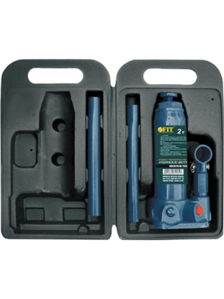 Домкрат гидравлический бутылочный в чемоданчике 2 т