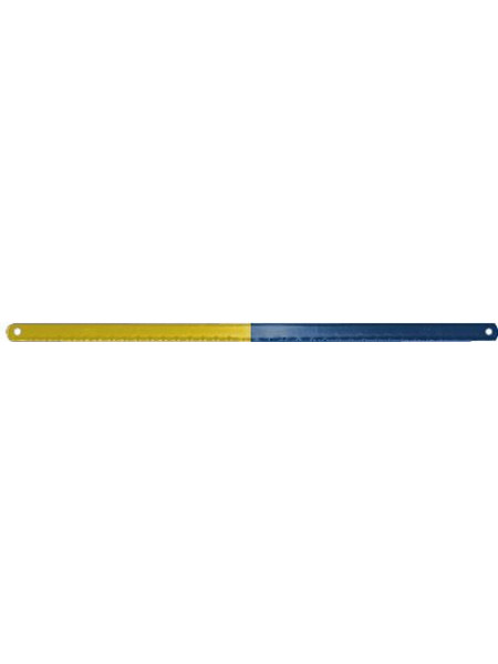 Полотно для ножовки по металлу каленый зуб легированная сталь 300х12 мм ( 24 ТPI )