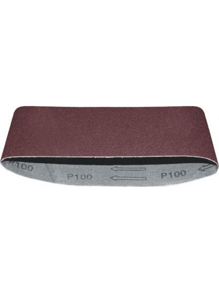 Ремни шлифовальные (бесконечная лента) водостойкие на тканевой основе 3 шт. 75х457 мм  Р40