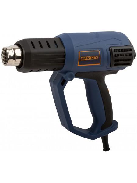 MAX-PRO Фен Технический 2000Вт 50/600°C 500л/мин 06кг Резиновый Кабель Резиновые вставки кор.