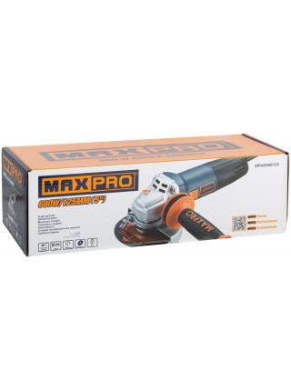 MAX-PRO Шлифмашина Угловая 680Вт 11000об/мин Ключевой Кожух 125мм 21кг Антивибрационная Ручка кор.