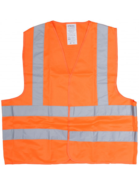 Жилет сигнальный оранжевый размер XL
