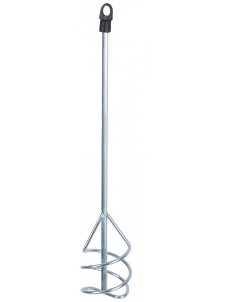 Миксер для строительных смесей оцинкованный Профи  80х400 мм