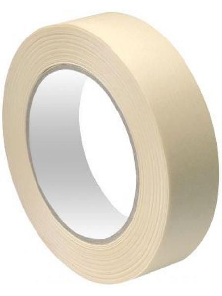 Лента малярная бумажная термостойкость до 80°C 24 мм х 25 м