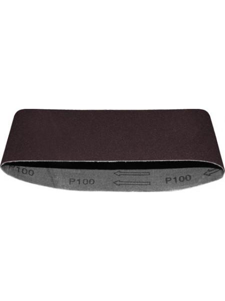 Ремни шлифовальные (бесконечная лента) водостойкие на тканевой основе 5шт. 75х457 мм Р 180