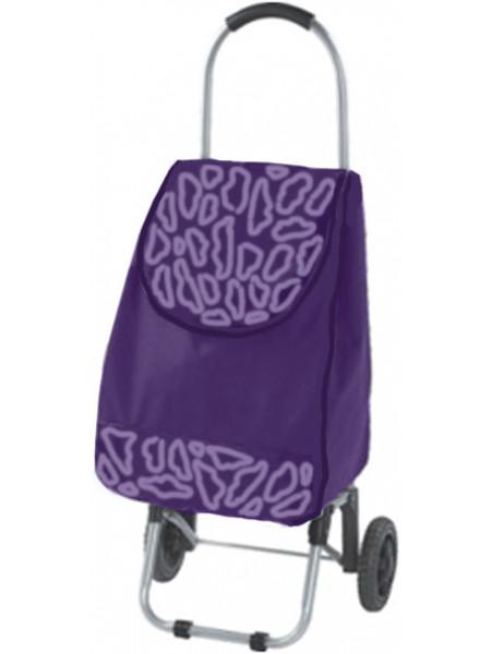Тележка хозяйственная с сумкой нагрузка 30 кг