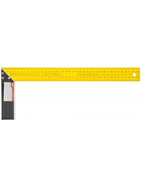 Угольник столярный желтый 400 мм