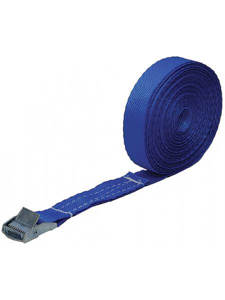 Ремень для крепления груза пряжка с фиксатором лента 25 мм x 25 м 250 кг